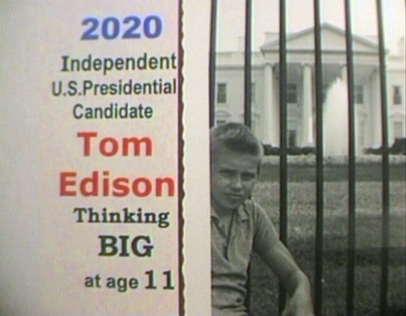 2020 President Tom Edison